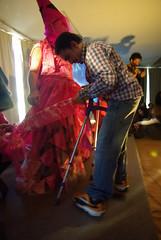 FESTIVAL LGTB VISIBLE 08: YOKO ONO'S CUT PIECE BY JORGE ARTAJO (Jorge Artajo Muruzabal) Tags: performance visible yokoono lgtb crculodebellasartes cutpiece jorgeartajo jovimaco pablopeinado