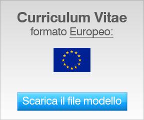 curriculum vitae europeo per wordpad