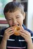 Big Bite (Sam Howzit) Tags: eating donuts athan april30 2011 dayofthedonut