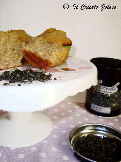 Muffins al tè alla menta