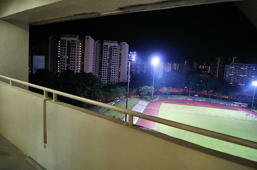 Bedok Stadium from 14th Floor of Blk 128