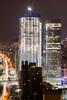 Osama Bin Laden Death Announcement & The World Trade Center: May 2, 2011 (12:16 a.m) (RBudhu) Tags: newyorkcity wtc gothamist groundzero sevenworldtradecenter usamabinladen oneworldtradecenter osamabinladendead