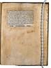 Fragment of page from Ficinus, Marsilius: De Christiana religione [Italian]