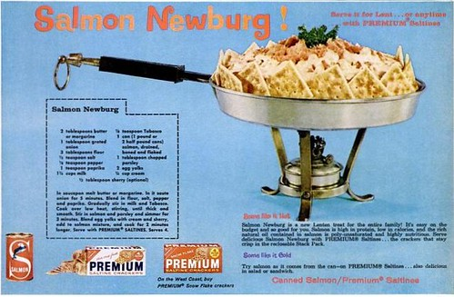 Salmon Newburg Ebony Mar 1962