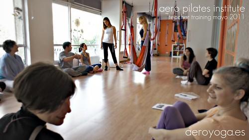 Aero Yoga y Aero Pilates, Clases Nuevos Ministerios