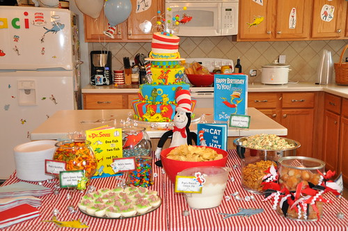 Dr Seuss Rice Krispie Treats