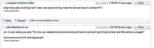 funny email exchange