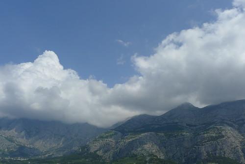 Biokovo over Makarska