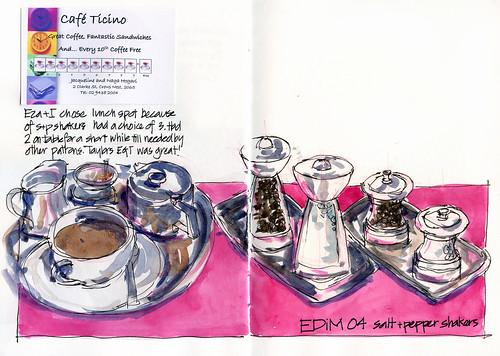EDiM04 Salt and Pepper shakers
