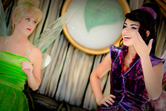 ~Disney Fairies - Vidia & Tinker Bell~ (SDG-Pictures) Tags: california costumes canon fun dance outfit purple dancing bell disneyland joy performance performing tinkerbell disney pixie entertainment perform southerncalifornia orangecounty dust anaheim pixies vidia enjoyment themepark entertaining tinker disneys disneylandresort disneycharacters fairywings 9410 disneylandpark tinkerbellcostume purplefairy 18aperture disneyfairies disneycostumes 85mmlens fairycostumes canonxsi takenbystepheng pixiehollow canonxsirebel tinkerfairy charactersflyingtinker friendstinkerbelltinker bellmagicmagicalpixie september42010 vidiacostume vidiavidia vidiatinker