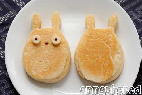 Non-bento #35: Totoro breakfast