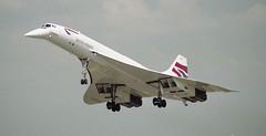 Concorde (Nigel Musgrove-2.5 million views-thank you!) Tags: concorde 1997 british airways raf fairford riat gboaf bacaerospatiale
