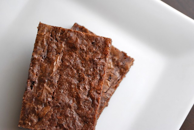 Whole Wheat Dark Chocolate Espresso Brownies