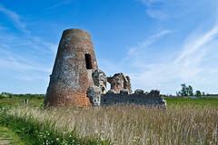 St Benet's Abbey, Norfolk (Phil Steere) Tags: blue sky cloud green mill abbey grass st stone wall clouds bure nikon ruins phil bricks norfolk norfolkbroads benets stbenetsabbey steere d3100 nikond3100 philsteere