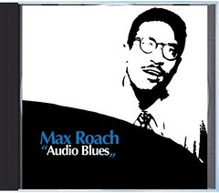 "Max Roach - ""Audio Blues"" CD (front)"