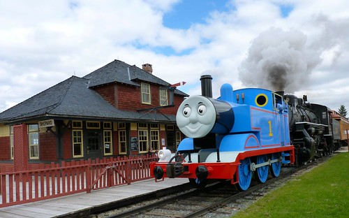 A Day Out With Thomas The Train at Calgary's Heritage Park
