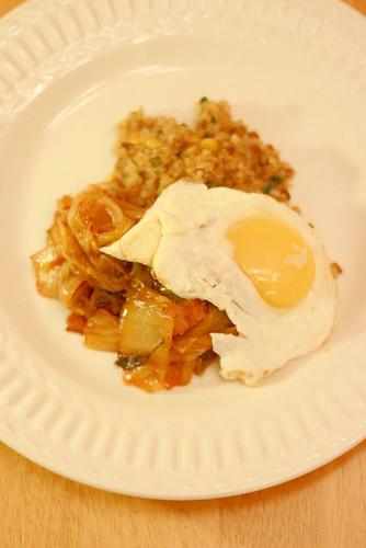 Stir-fry kimchee