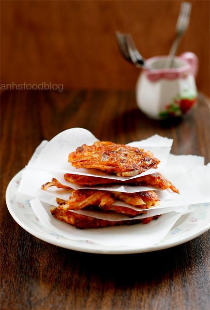 Kimchi pancakes #2