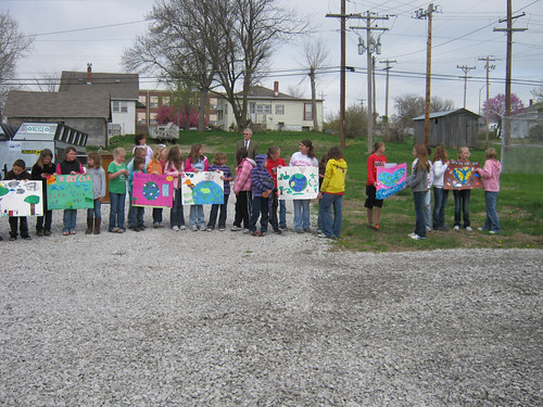 The Pawnee City students participated in the event with a poster contest.