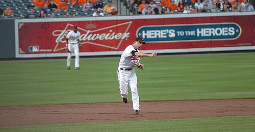 J.J. Hardy - Oriole shortstop