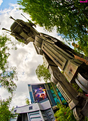 Star Tours: The Adventures Continue (Tom.Bricker) Tags: disney fisheye disneyworld hollywood mickeymouse waltdisneyworld disneymgmstudios waltdisney hollywoodstudios disneyphotos disneyshollywoodstudios disneyphotography wdwfigment tombricker disneyfisheye