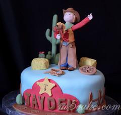Cowboy cake - 1