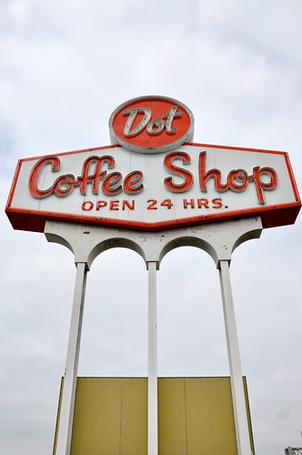 Dot Coffee Shop Mega Sign