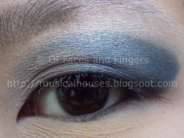 beautyuk baked eyeshadow wave eotd