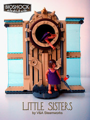 Bioshock Little Sisters by V&A Steamworks (V&A Steamworks) Tags: game daddy video big iron lego little sister va steamworks builder moc bioshock