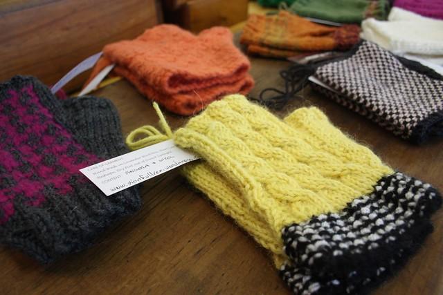 Vion Fullier mittens from Popcraft