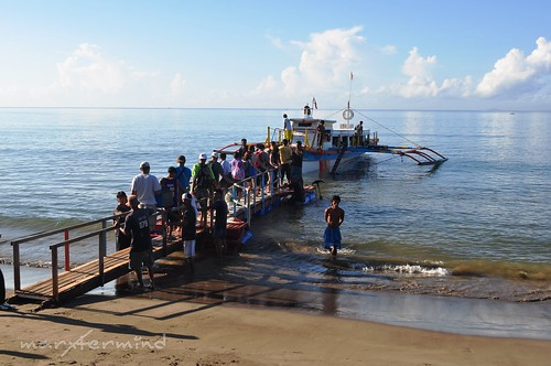 Sabang Beach To Caramoan Ferry - Floater