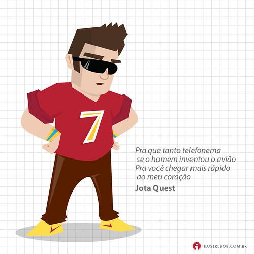 Jota Quest • Qual é a música?