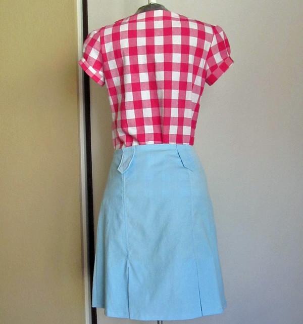Lisete Market skirt, back