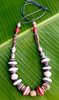 ugandan necklace (Mzuri beads) Tags: bananaleaf barkcloth cowhorn paperbeads ethicalfashion ribbonnecklace recycledjewelry fairtradejewelry naturalbeads fairtradebeads ugandanbeads ecojewellery ethicalbeads mzuribeads ugandanjewelry kirstiemaclean