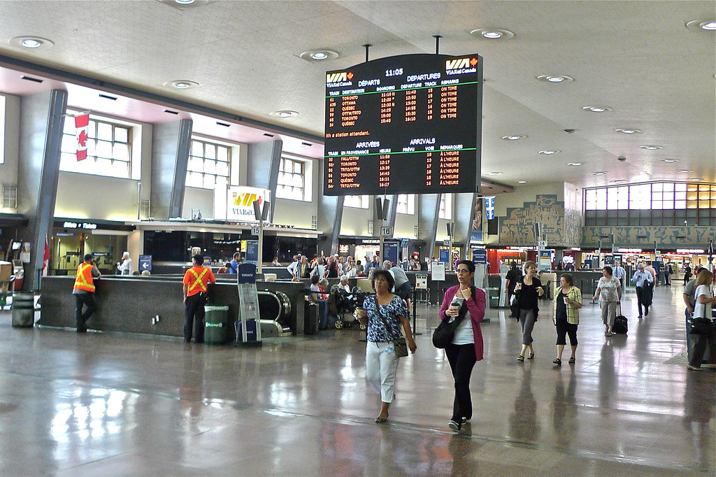 Copyright Photo: Montreal Via Train Central Station 2 by Montreal Photo Daily, on Flickr