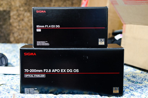Sigma 70-200 2.8 OS and 85 1.4