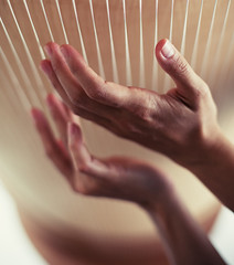 Consonance. (Beat.) Tags: hands hand sound harp spiritual healing eso esoteric heal monochord healingsound