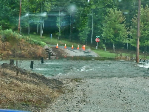 In October 2009, rising water and flash flooding closed twenty-five roads, including a critical bridge connecting the Whitewater Lake Community to the town's main road.