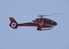 N154GC_EC130B4_KLAS_2575 (Mike Head - Jetwashphotos) Tags: helicopter heli chopper grandcanyon31 eurocopter ec130b4 las klas lasvegas nv nevada desert desertsouthwest landing us usa america dry hot arid summer latesummer