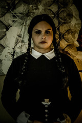 wednesday (timp37) Tags: nat nathalie wizard world comic con august 2016 illinois conlife wednesday addams