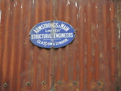 DSCN4188 (Mace Cockburn) Tags: corrugated rust sign