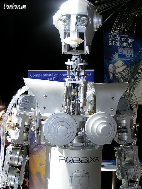 Robbixa, le robot humanoïde