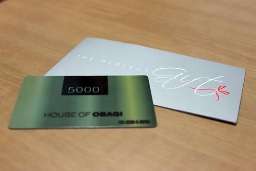 Obag Gift Card