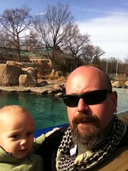 Bronx Zoo. Still a little nippy in March.
