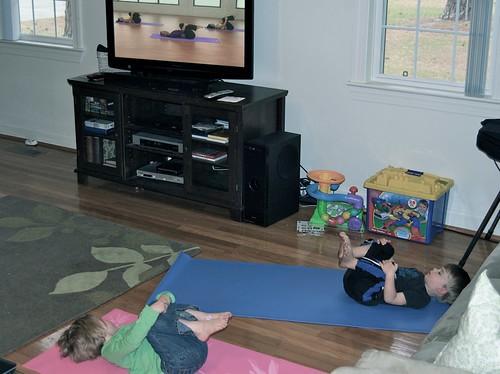 saturday afternoon yoga babies