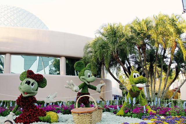 Epcot topiary