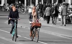 Joy (Iam Marjon Bleeker) Tags: holland amsterdam bike bicycle fun spring joy happiness sunny singel pleasure bikers springinamsterdam peopleonabike peopleonabikeinamsterdam womanonabikeinamsterdam girlsonabikeinamsterdam bikersinamsterdam