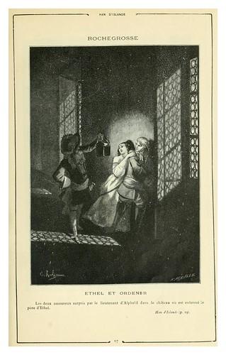 009-Han de Islandia 1-Cent dessins  extraits des oeuvres de Victor Hugo  album specimen (1800)