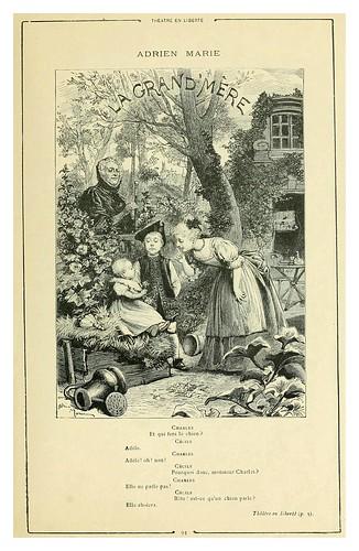 014-Teatro en libertad-La abuela-Cent dessins  extraits des oeuvres de Victor Hugo  album specimen (1800)