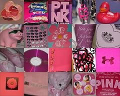 pink minutiae (laurenlovessarah) Tags: bear pink macro duck cd calculator